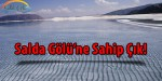 Salda Gölü'ne Sahip Çıkılmalı
