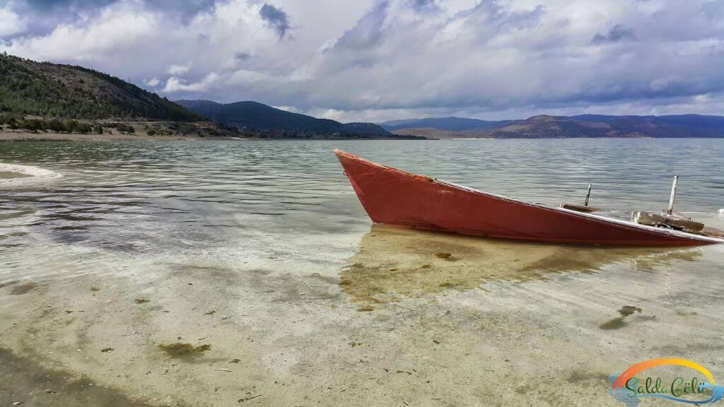 Salda Gölü Kayık Kano