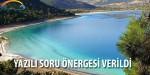 Salda Gölü İçin Yazılı Soru Önergesi Verildi