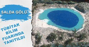 Salda Gölü TUBİTAK Bilim Fuarında Tanıtıldı