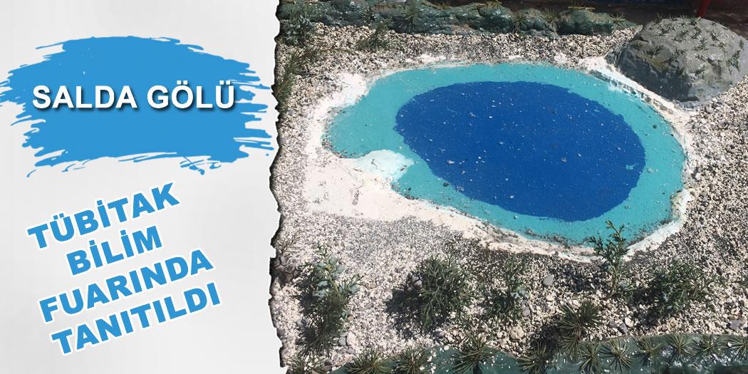 Salda Gölü Tübitak Bilim Fuarında Tanıtıldı