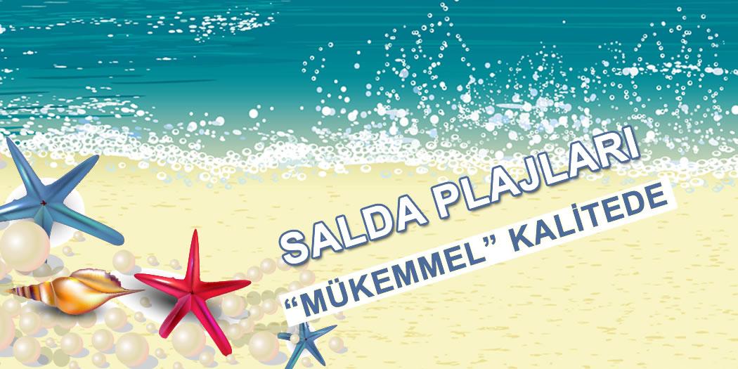 Salda Plajları Mükemmel!
