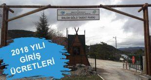 Salda Tabiat Parkı Giriş Ücretleri