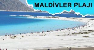 Salda Gölü 'Maldivler Plajı'
