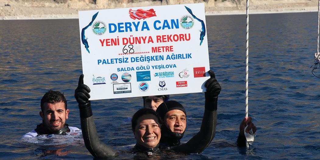 Salda Gölü'nde Bir Ayda İki Dünya Rekoru Kırıldı