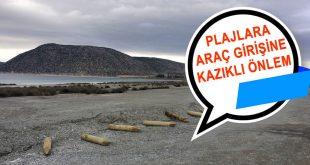 Salda Gölü Plajlarına Araç Girişi İçin Önlem Alındı