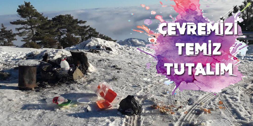 Salda Kayak Merkezi Kirlilik