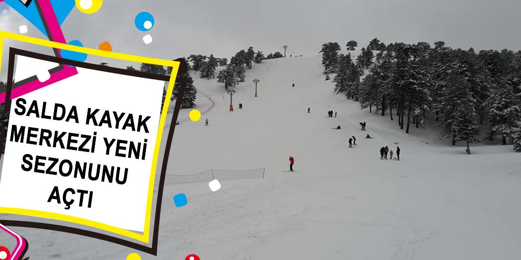 Salda Kayak Merkezi 2019 Sezonunu Açtı