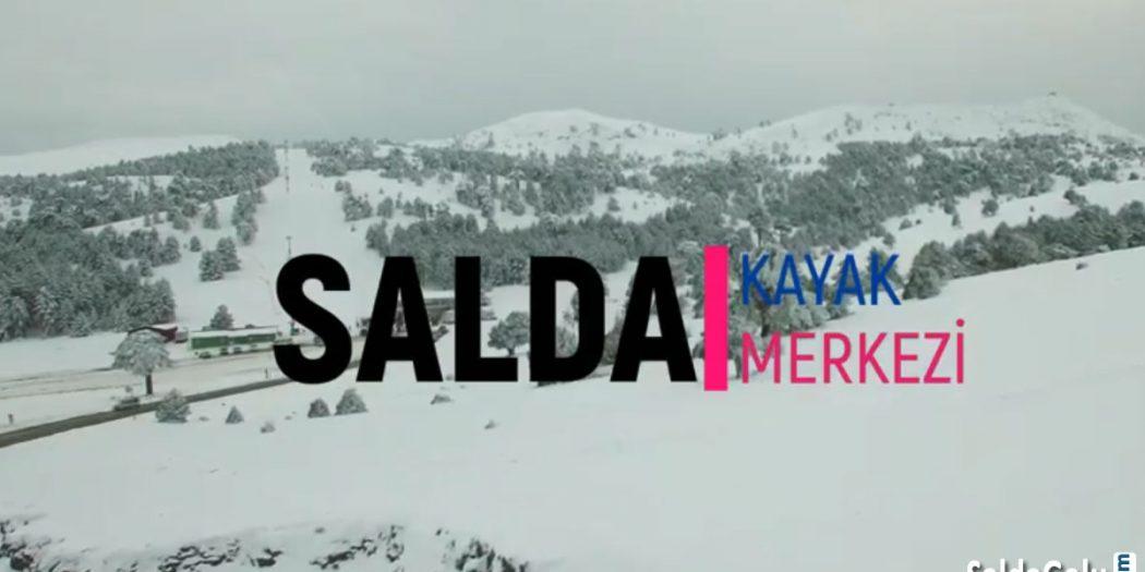 Salda Kayak Merkezi Drone Çekimleri