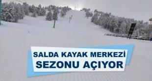 Salda Kayak Merkezi Yeni Sezonu Açıyor