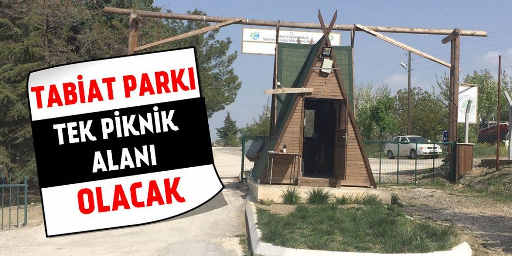 Salda Gölündeki Tek Piknik Alanı 'Tabiat Parkı' Olacak