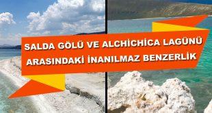Salda Gölü Alchichica Lagünü Benzerlik