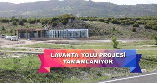 Lavanta Yolu Projesi Tamamlanıyor