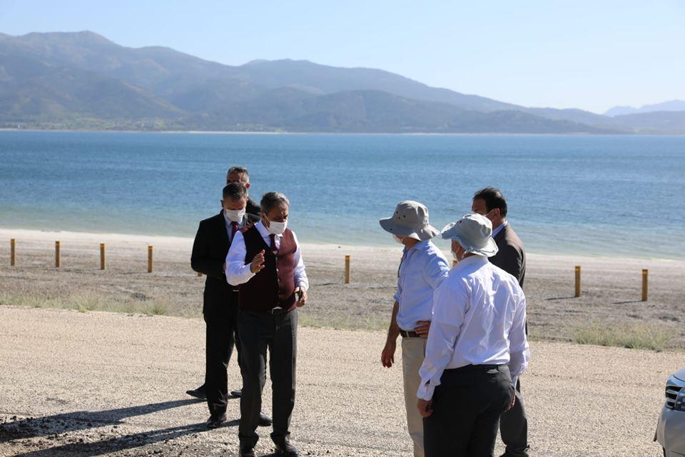 Vali Hasan Şıldak Salda Gölü İncelemesi