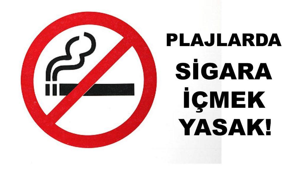 Plajlarda Sigara İçmek Yasak