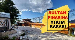 Tarihi Sultan Pınarı İşletmesi Yıkılıyor