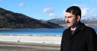 Bakan Kurum Salda Gölü Açıklaması