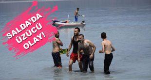 Salda Gölü Boğulma
