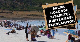 Salda Gölünde Ziyaretçi Kısıtlaması Planlanıyor