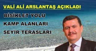 Vali Ali Arslantaş Çalışmaları Açıkladı